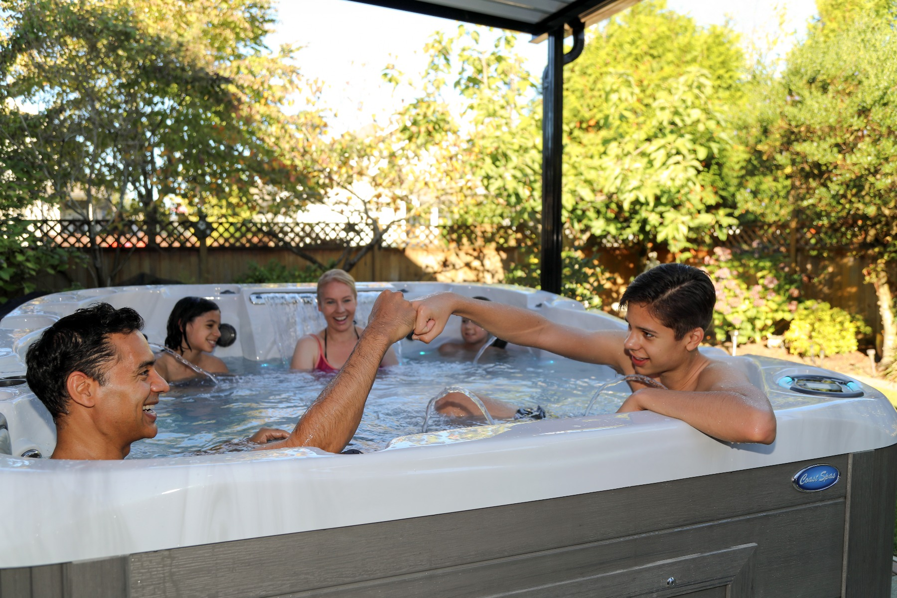 Hot Tubs are a great place for the family to reconnect this Mothers Day