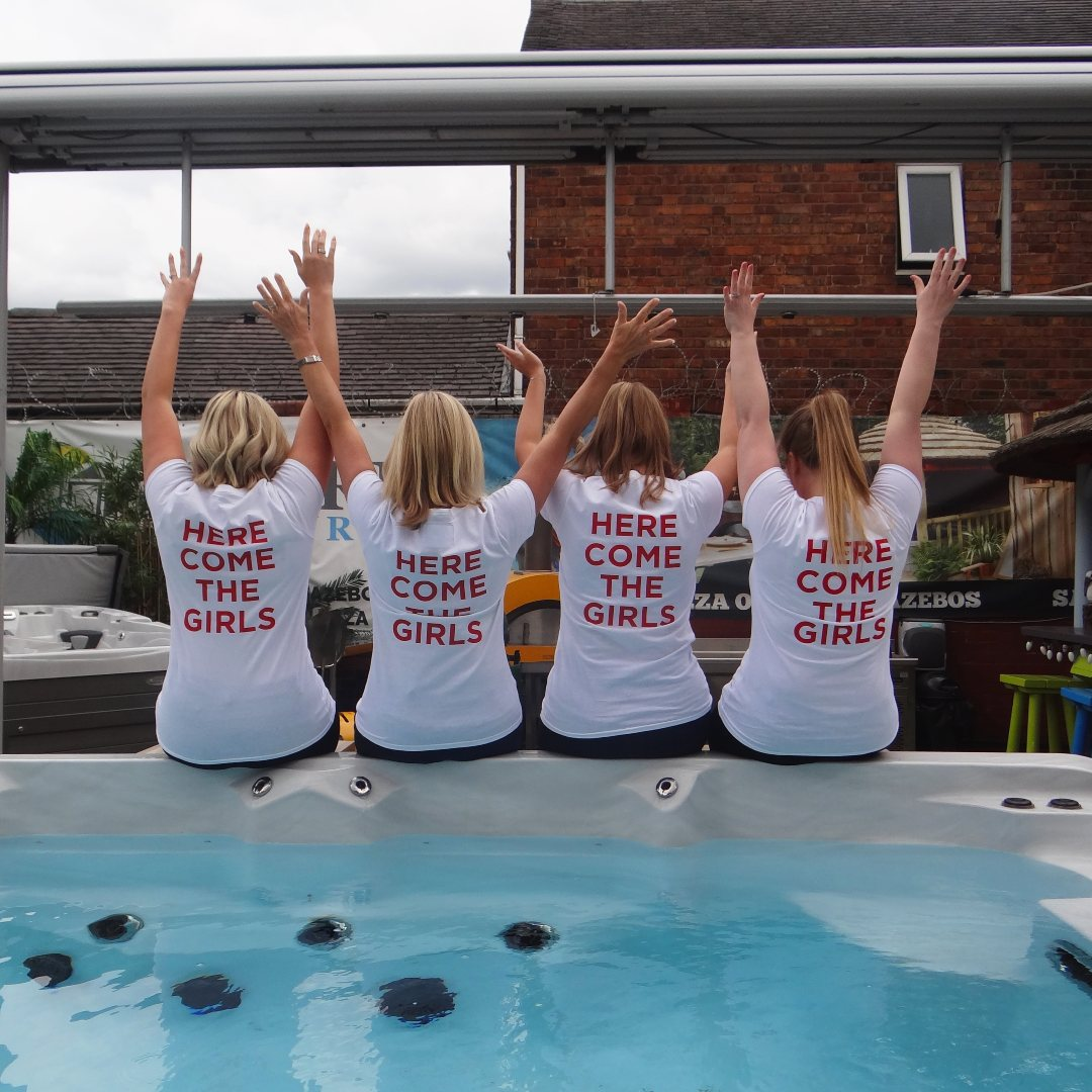 Win your dream hot tub if England win one of 3 major sporting events