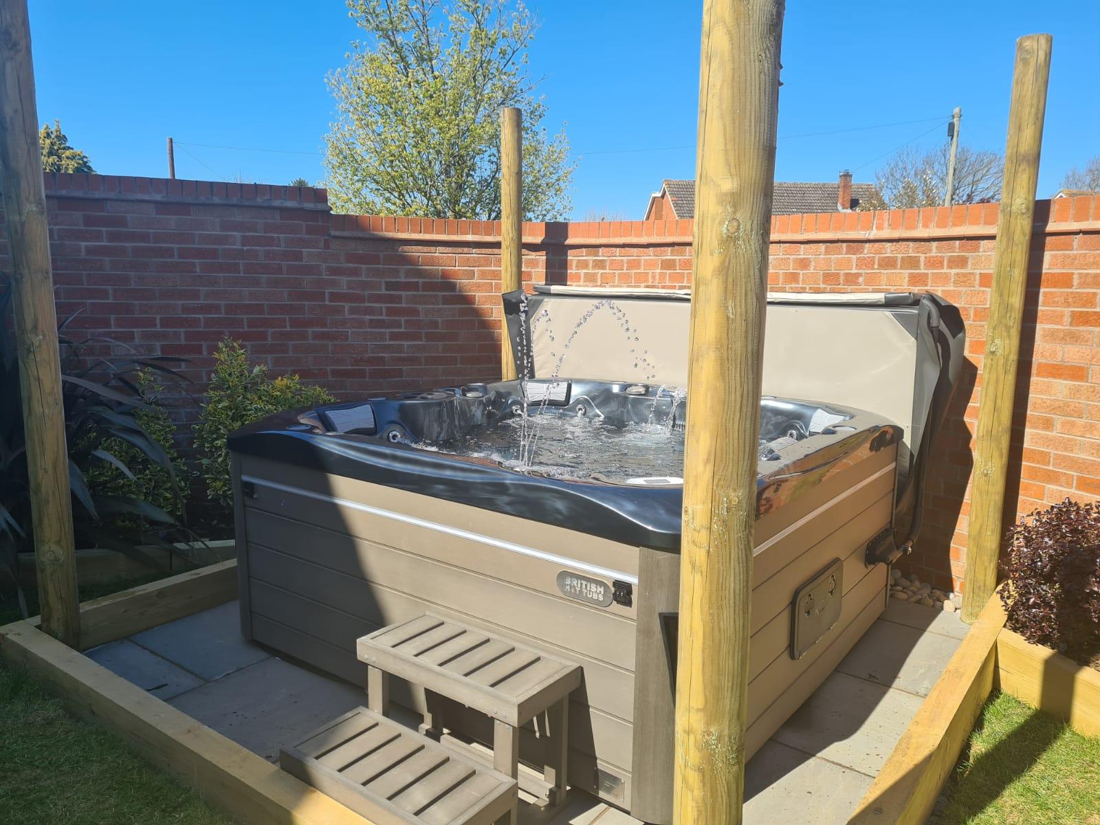 Balmoral Hot Tub Installation