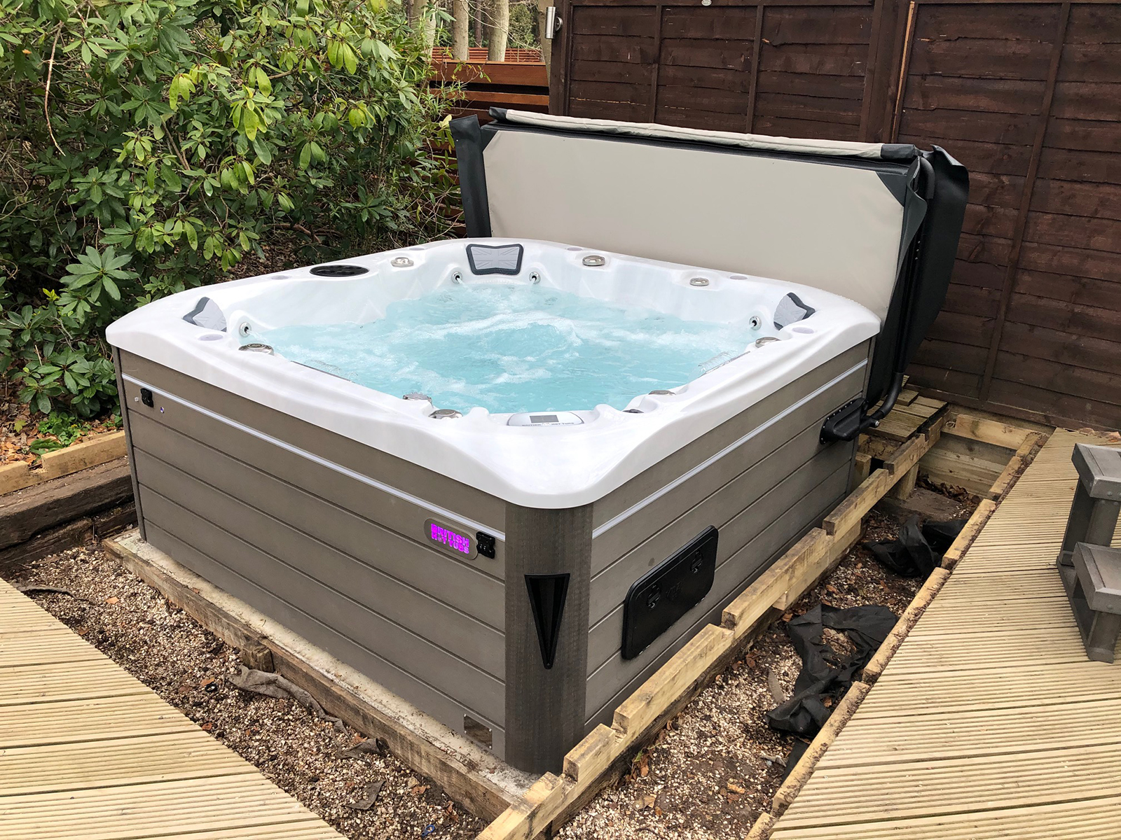 Windsor Hot Tub Installation