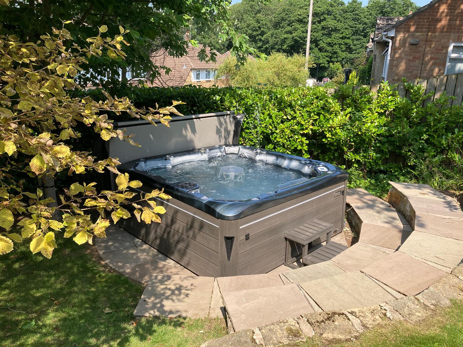 Sterling Hot Tub Installation
