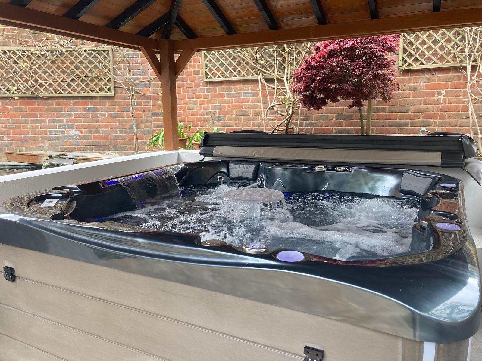 Spencer Hot Tub Installation