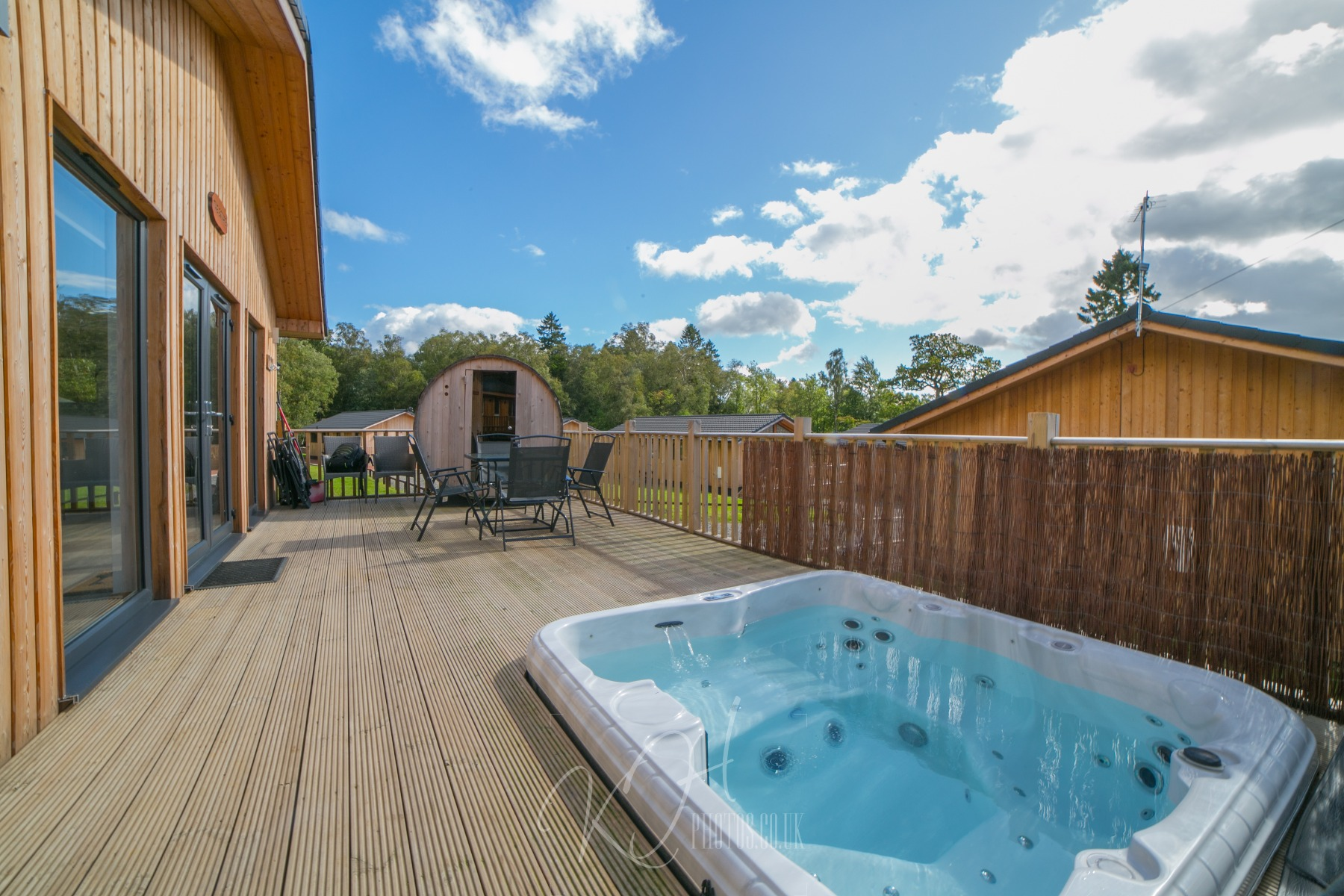 Hot Tub Holidays in the Northumberland National Park