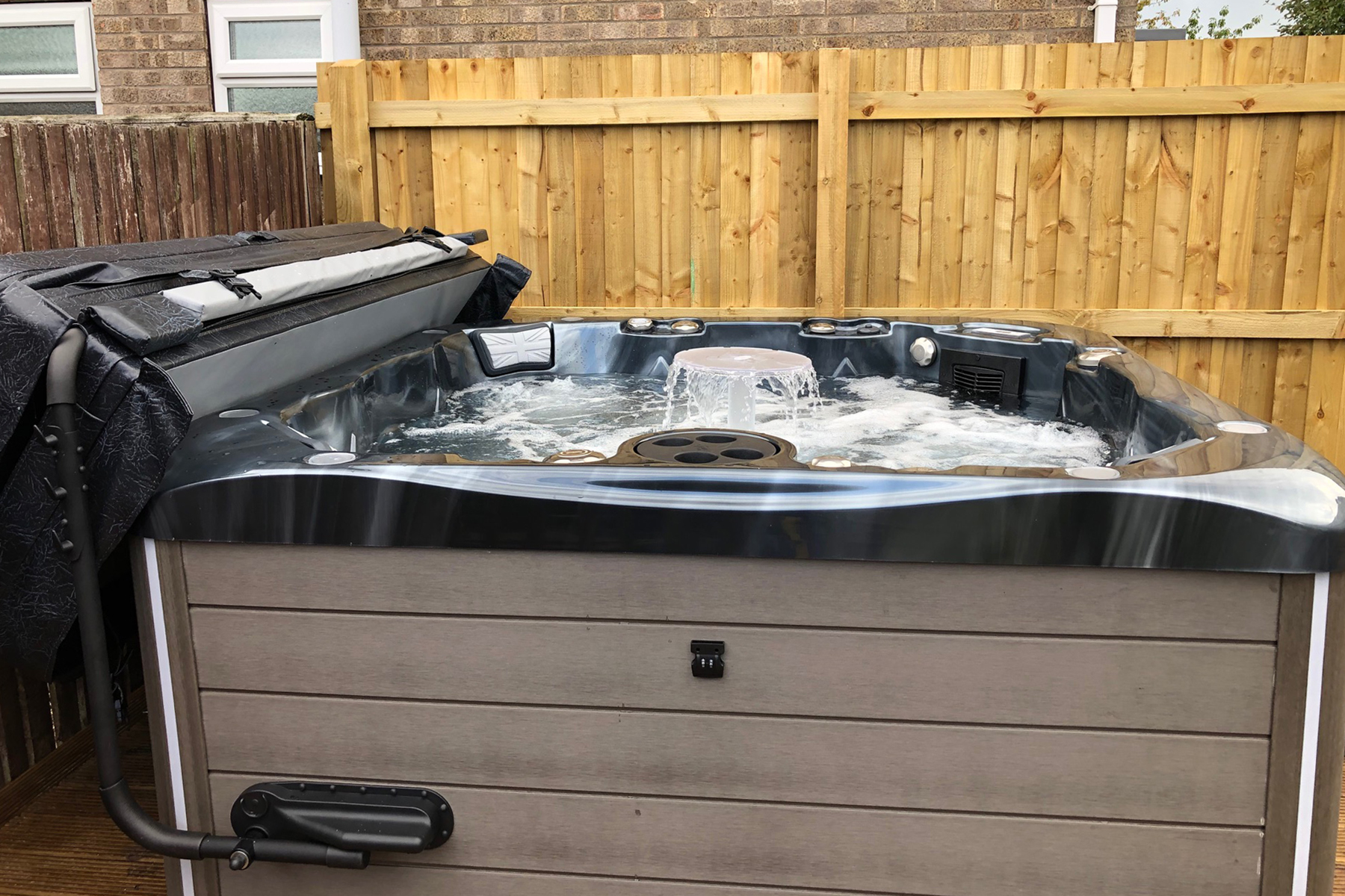 british hot tubs shakespeare installation
