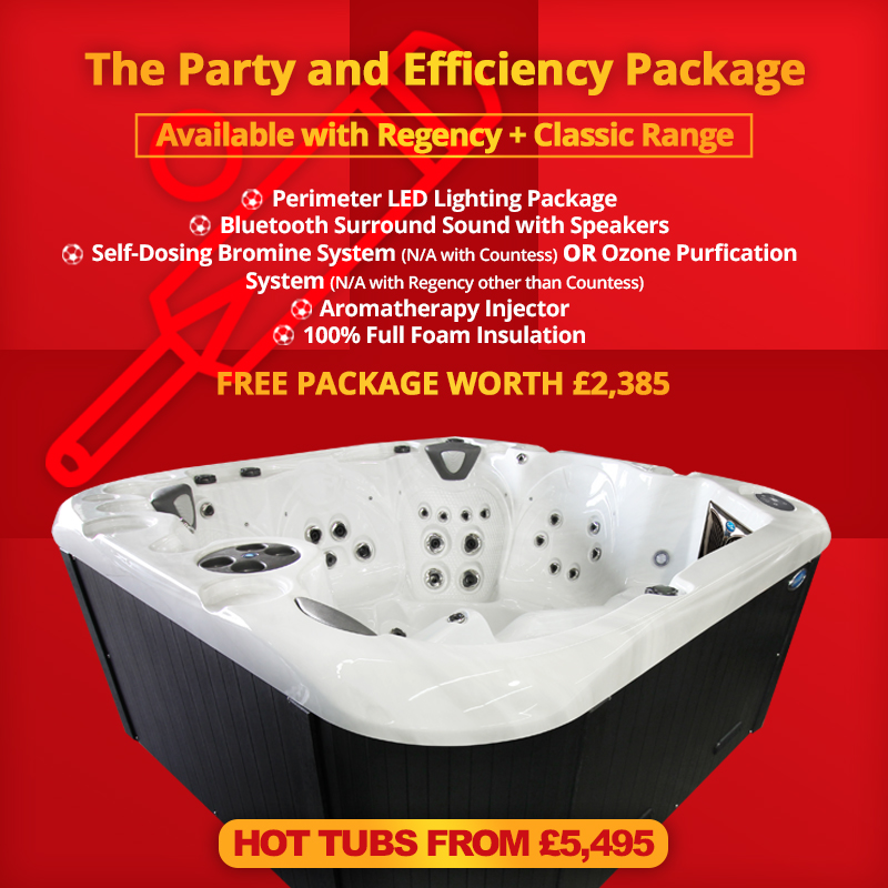 Regency and Classic Hot Tub Offers