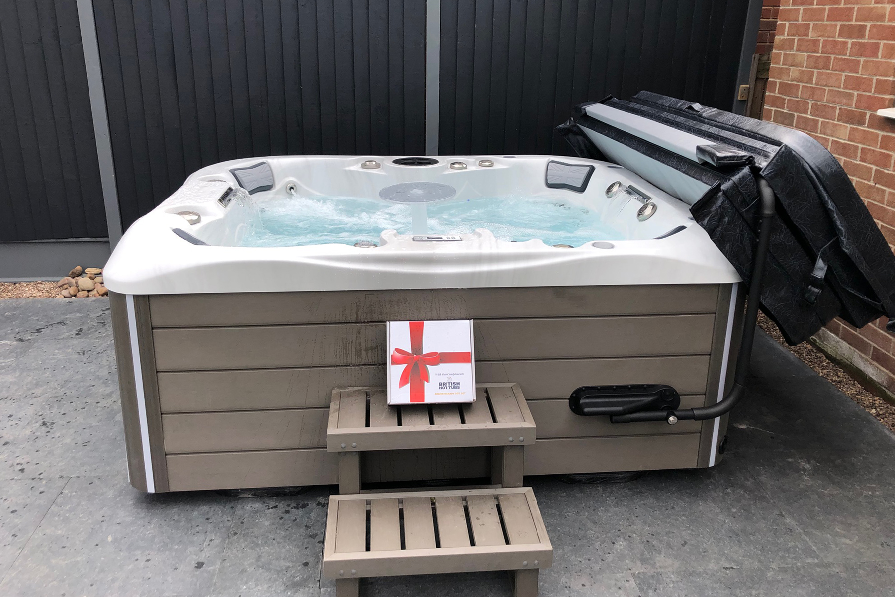 british hot tubs westwood installation