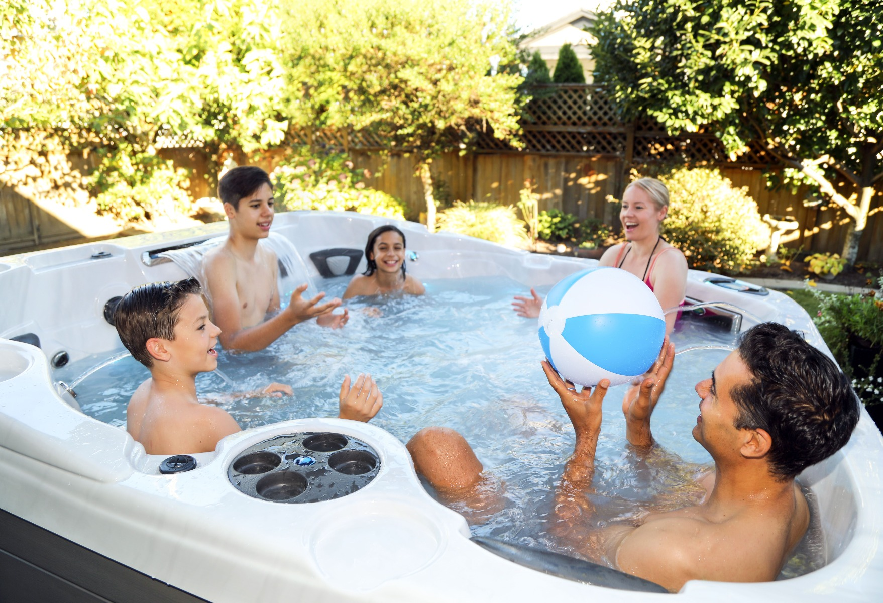 Keep your children safe with a premium Hot Tub