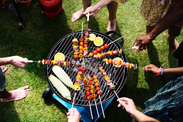 BBQ summer garden party