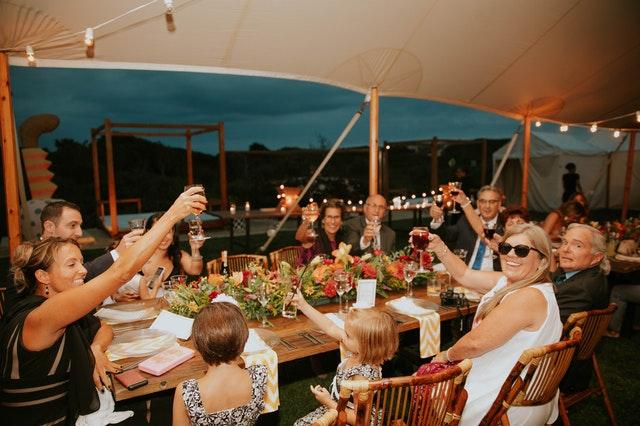 Gazebos can help you enjoy garden parties all year round