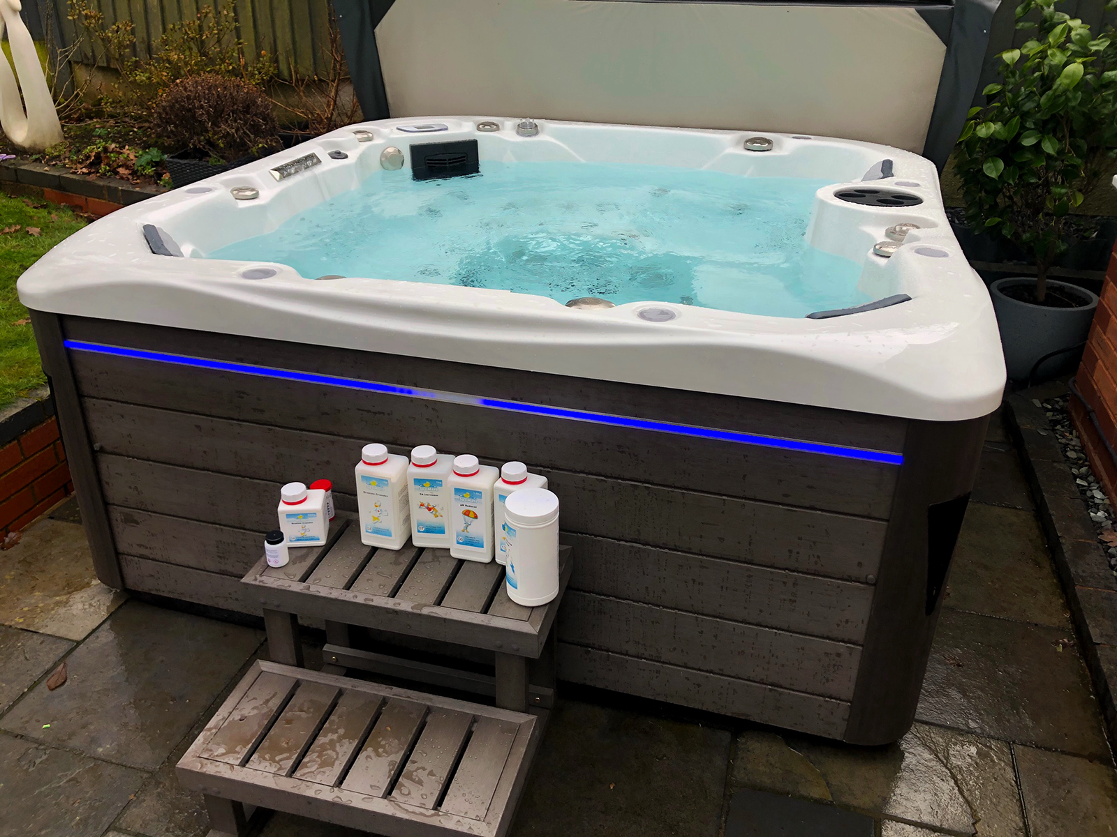 balmoral hot tub installation