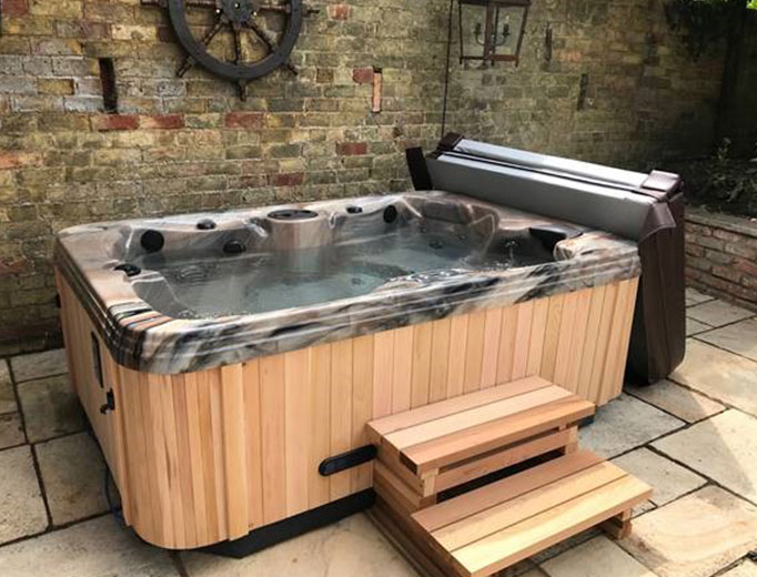 The Coast Spas Regency Baroness 30 is perfect for holiday letting