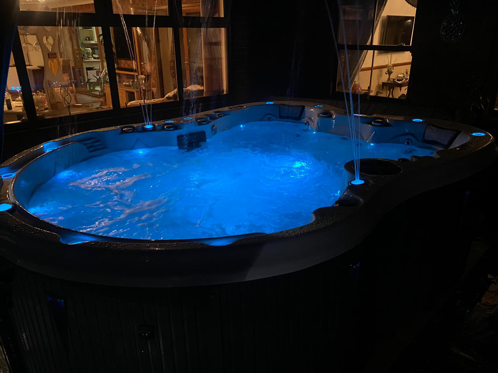 britannia hot tub installation