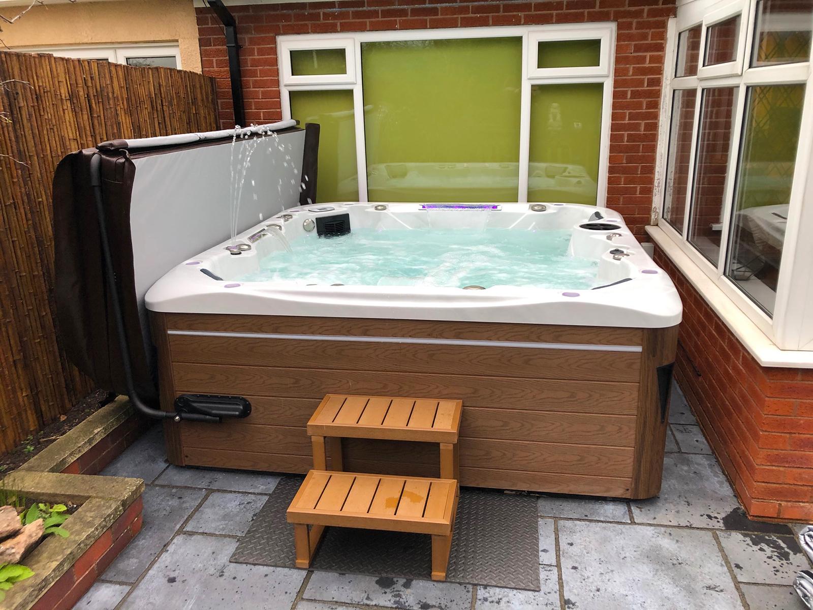 Empire Hot Tub Installation