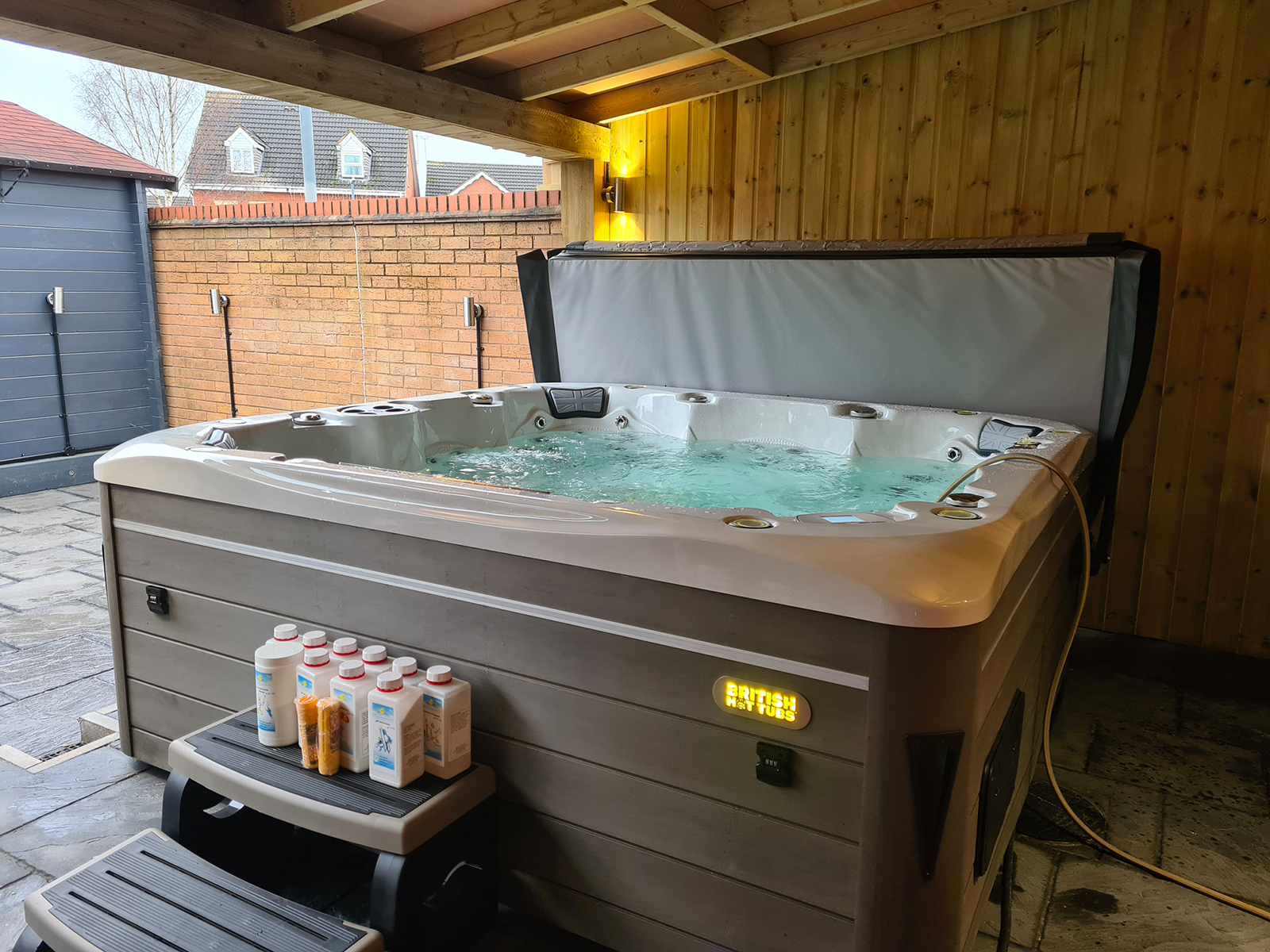 Sterling Hot Tub Installations