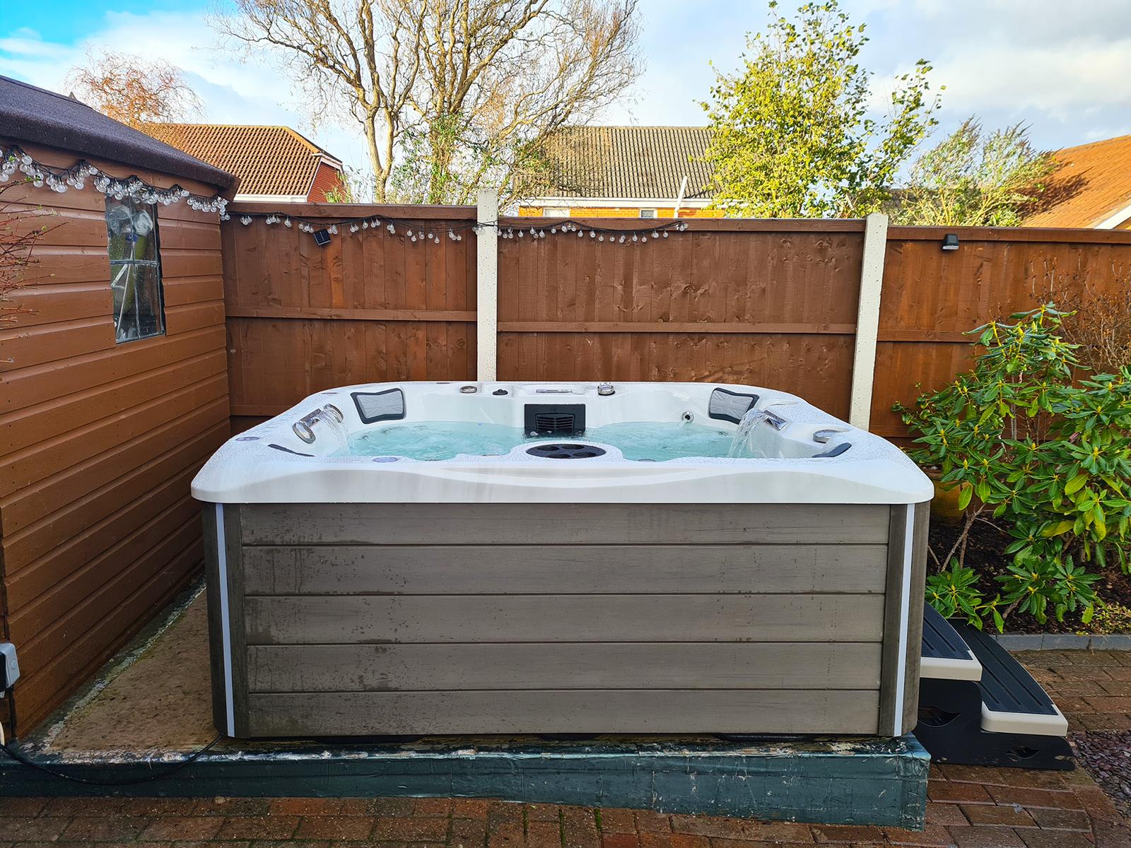 Westwood Hot Tub Installation