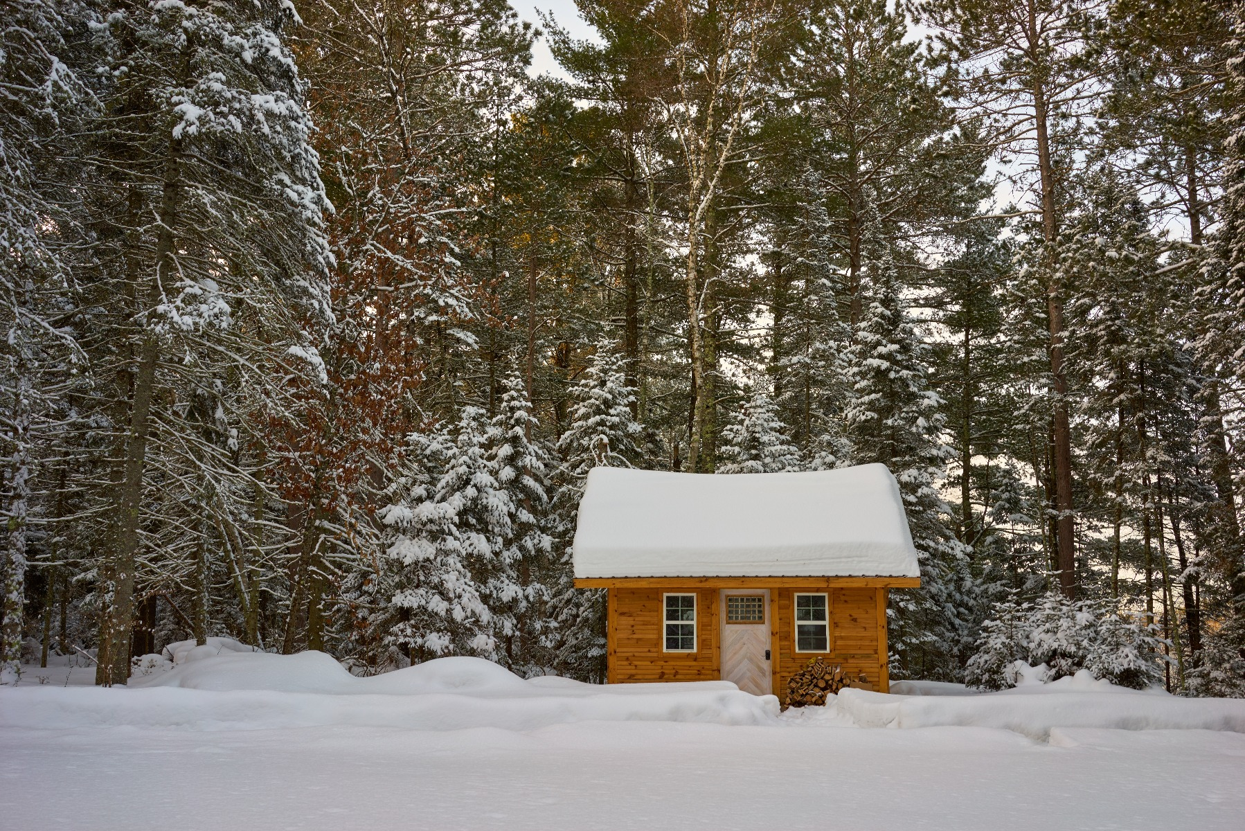 Proper maintenance will ensure your cabin stands for many Winters to come