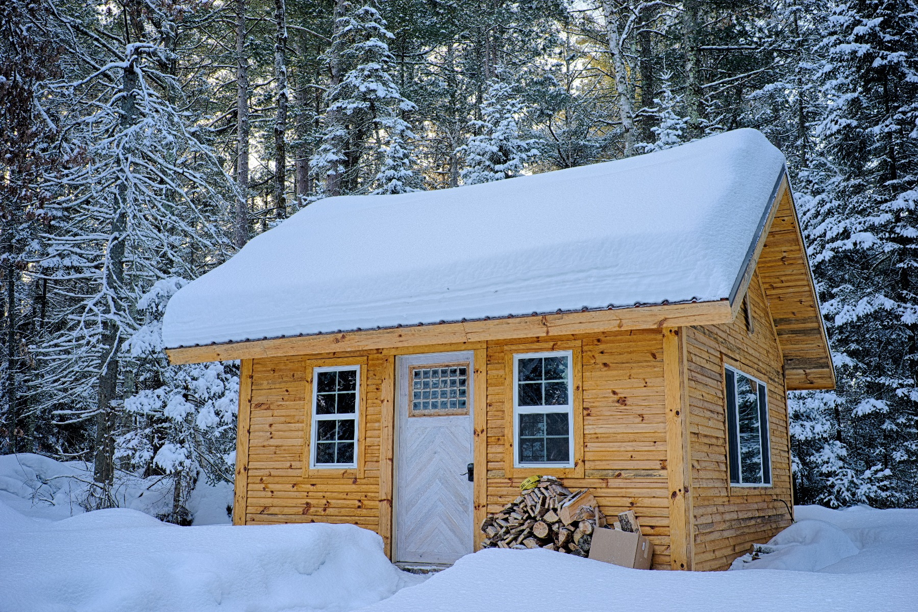 Insulation is a cost-effective way of keeping your cabin warm during the winter
