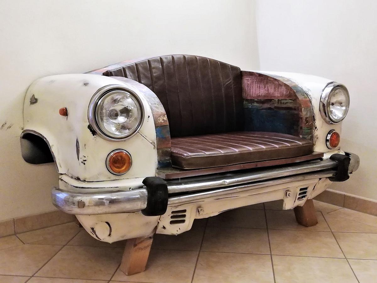 Car themed sofa