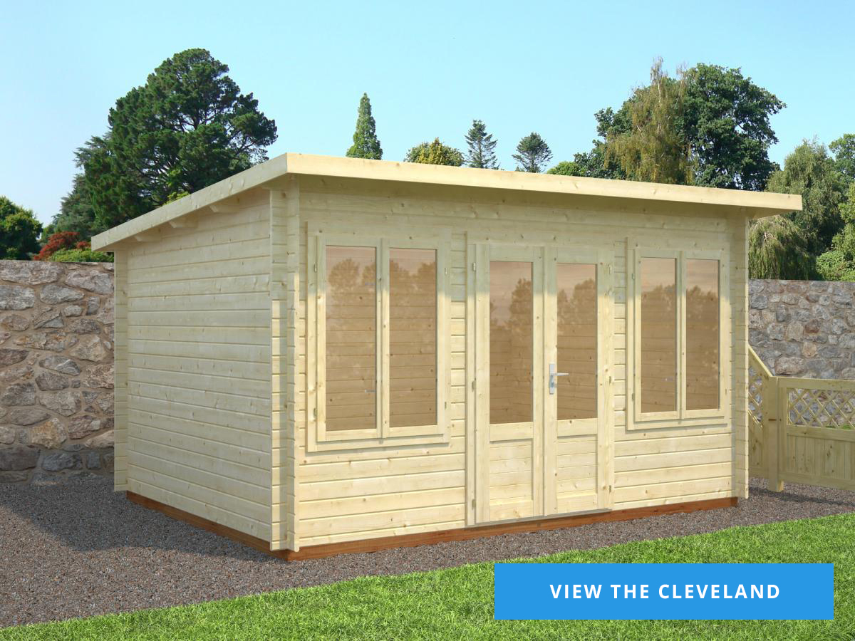 The Cleveland Log Cabin