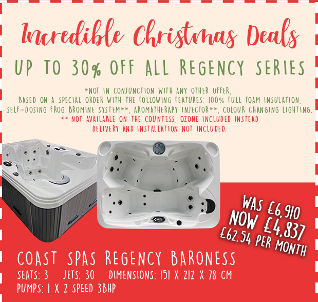 Regency Baroness Hot Tub Discount