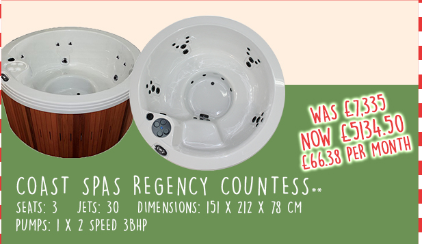 Regency Countess Hot Tub Discount