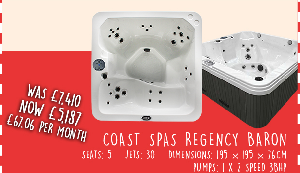 Regency Baron Hot Tub Discount