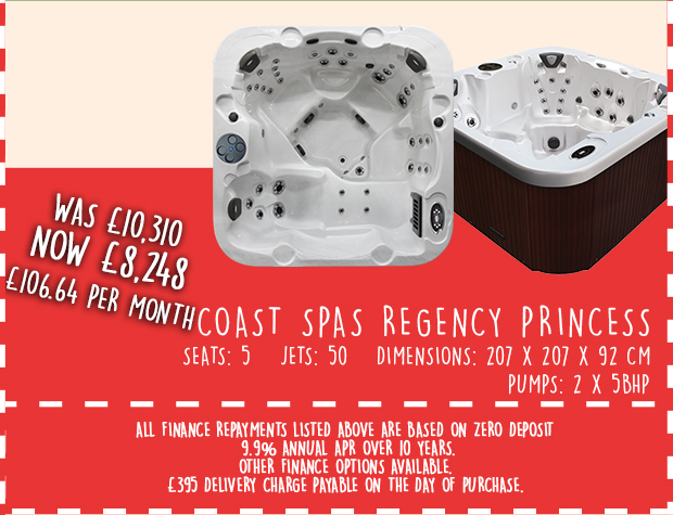 Regency Princess Hot Tub Discount