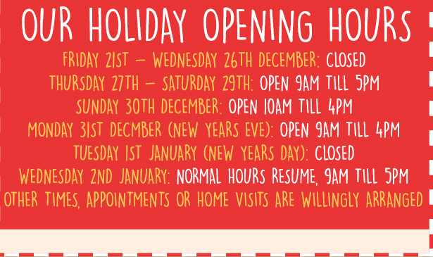 Award Leisure Opening Times