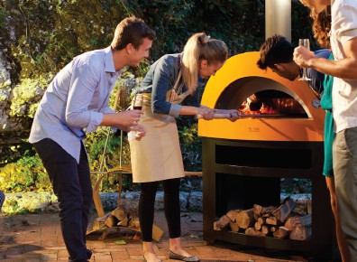 Wood Fired Pizza Oven Garden Party
