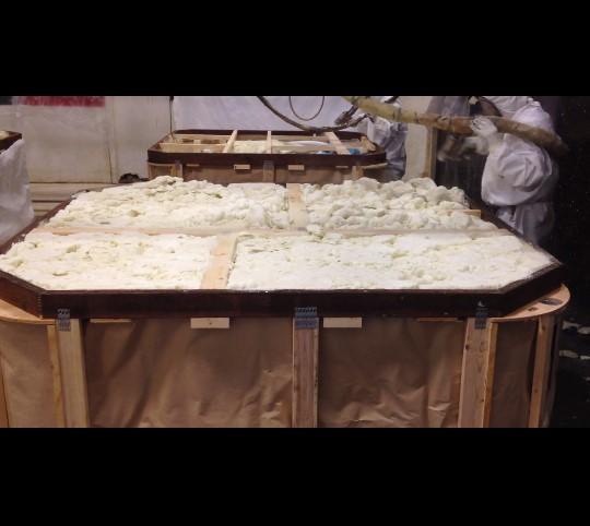 Hot Tub Foam Insulation Video