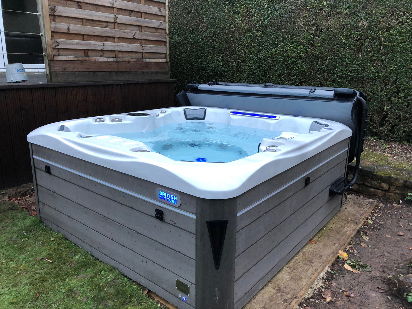 kensington hot tub installation