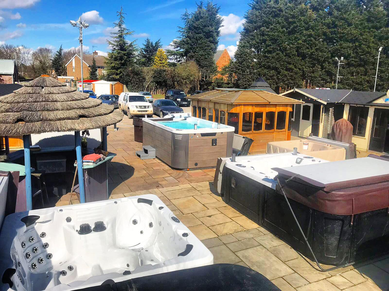 Display Hot Tub Models at Award Leisure Lincoln