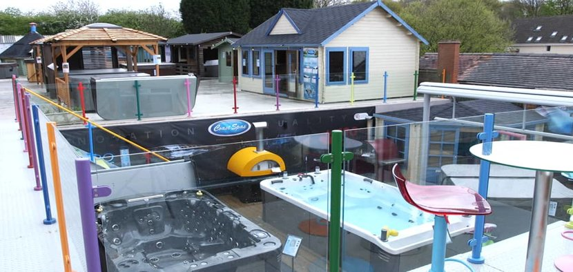 Hot Tub Showroom in Warwickshire