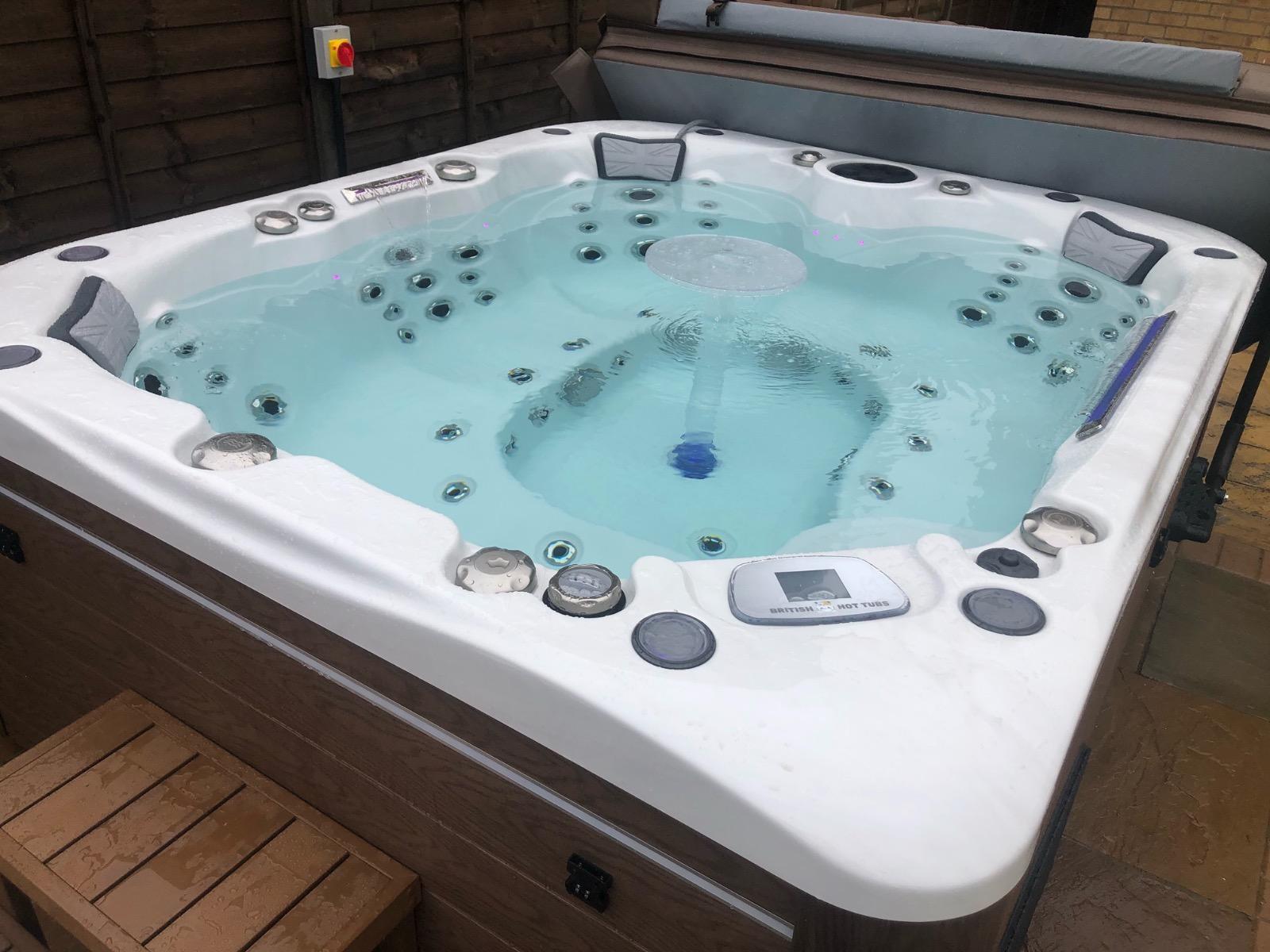 Sandringham Hot Tub Installation