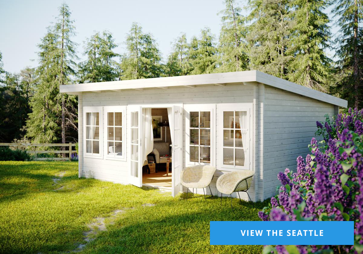 The Seattle Log Cabin