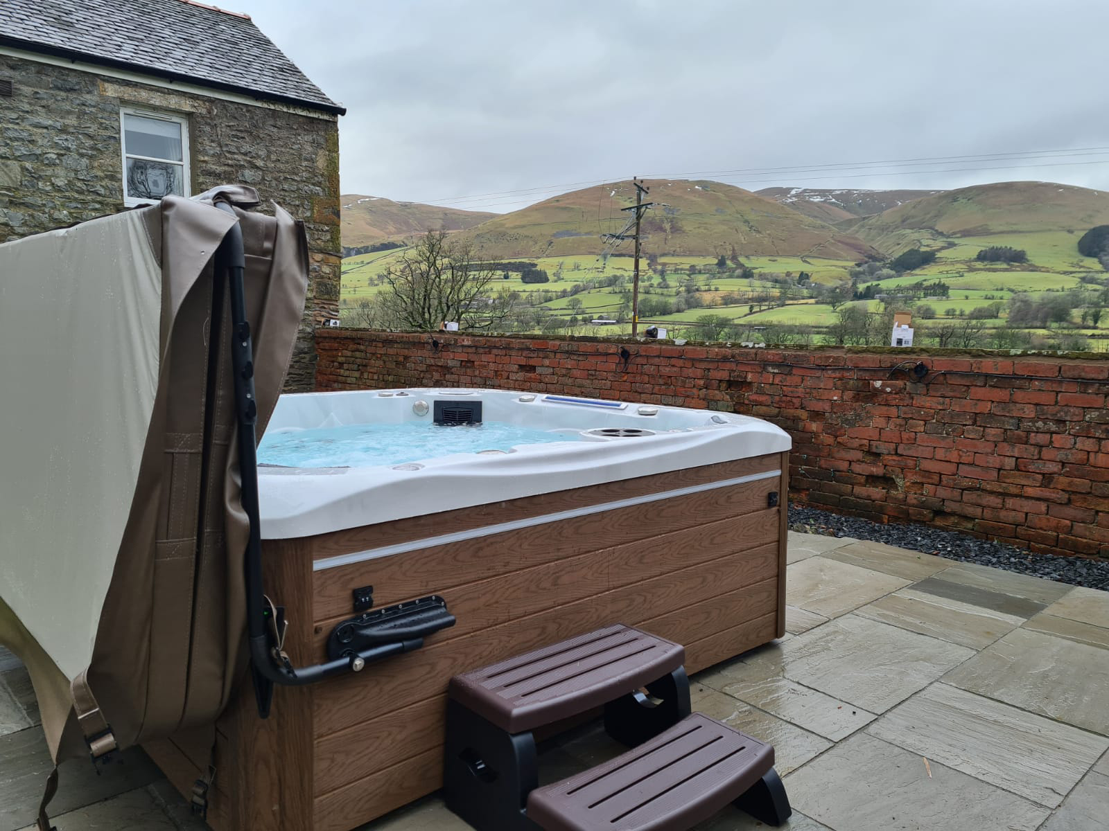 sterling hot tub installation