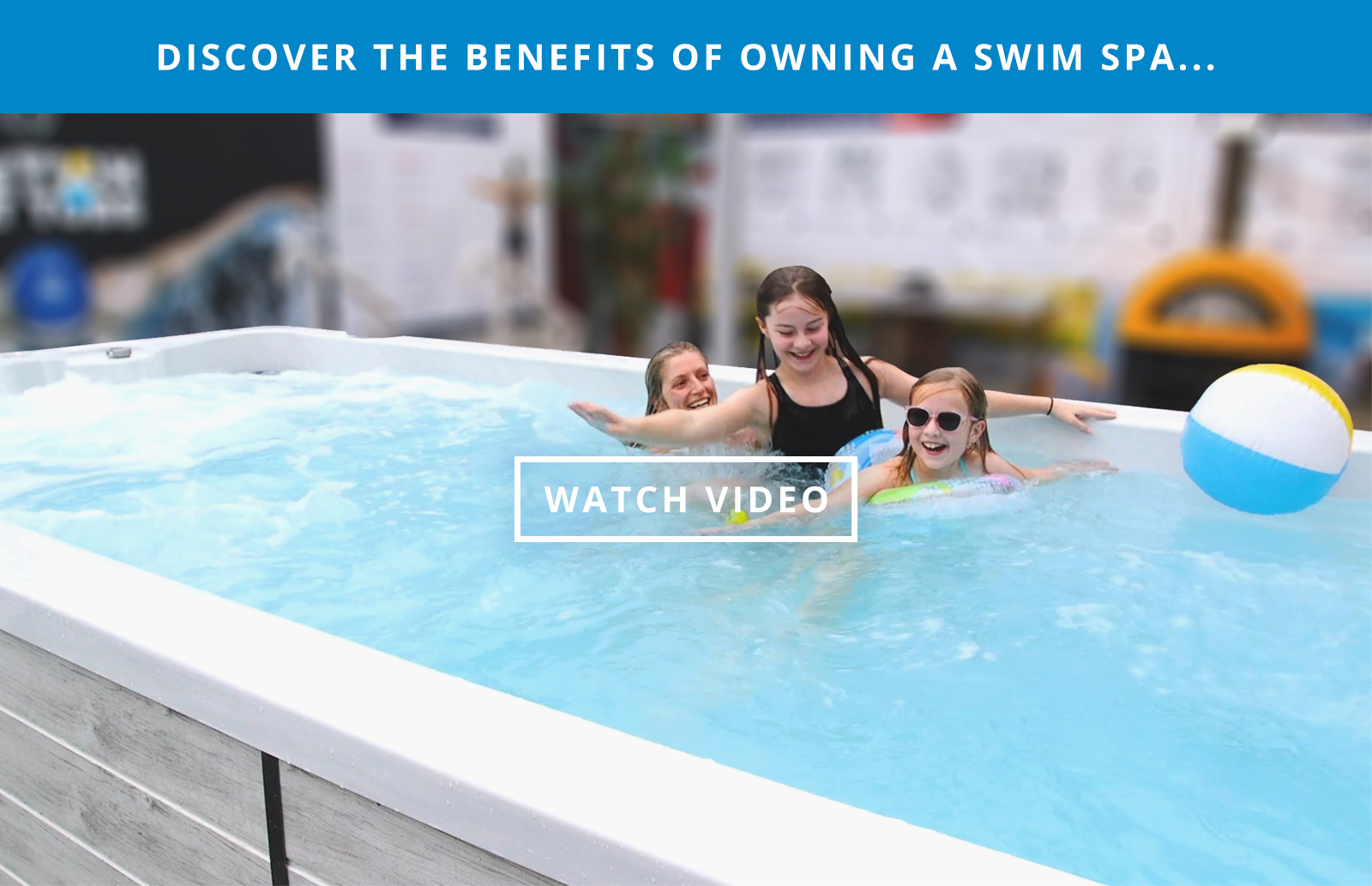 swim spa benefits video