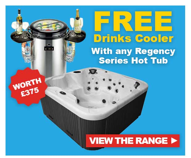 FREE Drinks Cooler with any Regency Spas Hot Tub