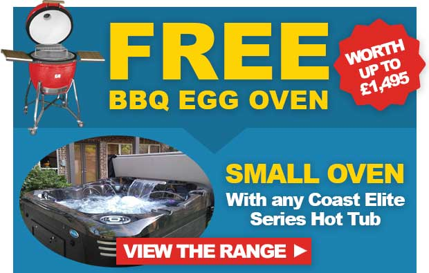 FREE Small Egg OVen with Any Coast Spas Elite Hot Tub