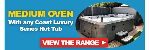 FREE Medium Egg Oven with Any Coast Spas Luxury Hot Tub