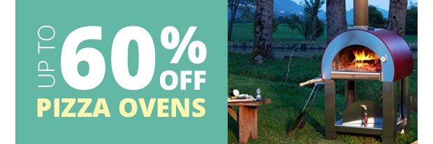 Save Up To 60% on Wood Fired Pizza Ovens